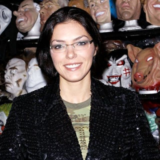Adrianne Curry in Adrianne Curry Visits Hollywood Toys & Costumes to Pick Up Her Halloween Outfit