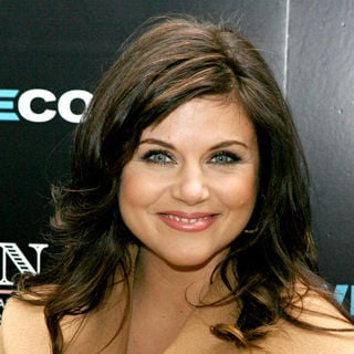 Tiffani-Amber Thiessen in USA Network's 'White Collar Shirt Bar'