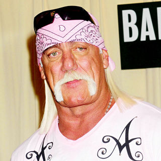 Hulk Hogan in Hulk Hogan signs copies of his new book 'My Life Outside the Ring'