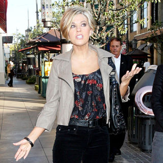 Kate Gosselin in Kate Gosselin seen shopping while being filmed for her reality television show, 'Kate Plus 8'