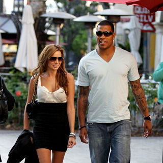 Nadine Coyle Shopping in Hollywood with Jason Bell - wenn5378082