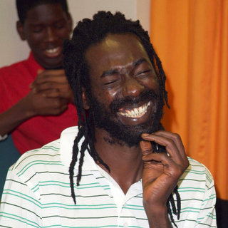 Buju Banton on The Backstage at Reggae Bash 2009