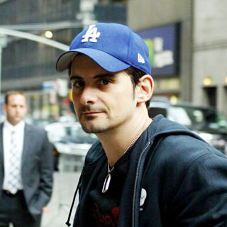 Brad Paisley in Brad Paisley outside the Ed Sullivan Theater for the 'Late Show With David Letterman'