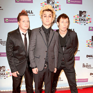 Green Day in The 2009 MTV European Music Awards (EMAs) - Arrivals