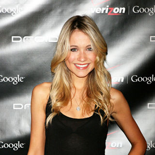 Katrina Bowden in Verizon wireless launch of the new Droid smart phone