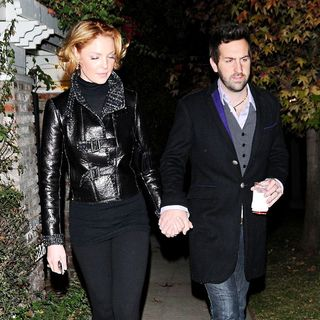 Katherine Heigl, Josh Kelley in Katherine Heigl and Josh Kelley leaving their house for a night out