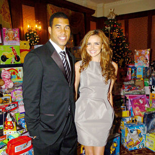 Jason Bell, Nadine Coyle in Christmas Charity Lunch for Northern Ireland Children's Hospice
