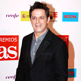 Alejandro Sanz in AS Newspaper Sports Awards 2009 Gala