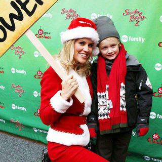 Jenny McCarthy, Evan Asher in ABC Family's Elf Party