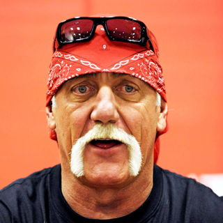 Hulk Hogan in Hulk Hogan signs copies of his new autobiography 'My Life Outside The Ring'