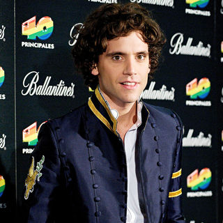 Mika in '40 Principales' 2009 Awards ceremony - Press Room