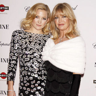 Kate Hudson, Goldie Hawn in New York Premiere of 'Nine' Sponsored by Chopard