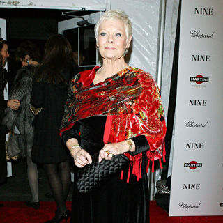 Judi Dench in New York Premiere of 'Nine' Sponsored by Chopard