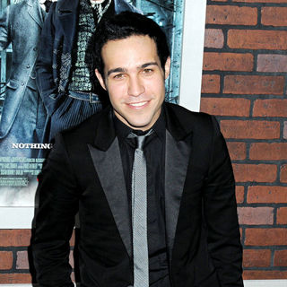Pete Wentz in New York premiere of 'Sherlock Holmes' - Arrivals