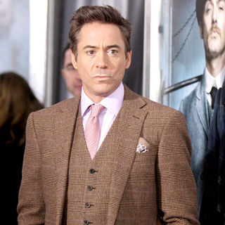 Robert Downey Jr. in New York premiere of 'Sherlock Holmes' - Arrivals