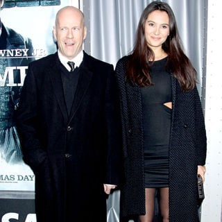 Bruce Willis, Emma Heming in New York premiere of 'Sherlock Holmes' - Arrivals