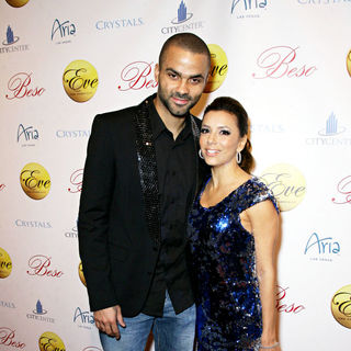 Eva Longoria, Tony Parker in Eva Longoria hosts a New Year's Eve Celebration