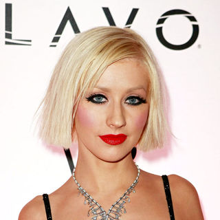 Christina Aguilera - TAO at The Venetian and LAVO at The Palazzo New Year's Eve Party