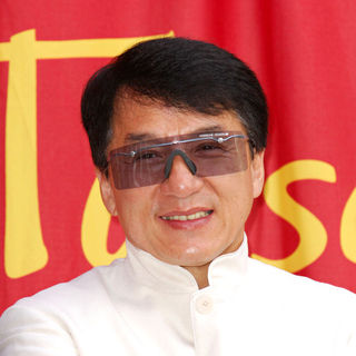 Jackie Chan in Unveiling of the Jackie Chan wax figure