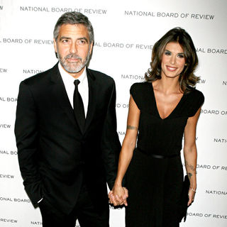 George Clooney, Elisabetta Canalis in National Board of Review of Motion Pictures Awards gala - Arrivals