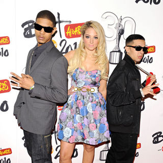 N-Dubz in The Brit Awards 2010 - shortlist announcement