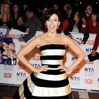 Dannii Minogue in National Television Awards