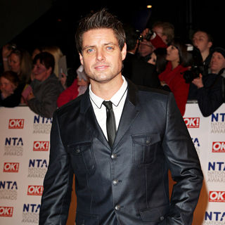 Keith Duffy in National Television Awards