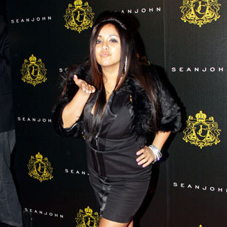 Snooki - Justin Dior Combs' Sweet 16th birthday party