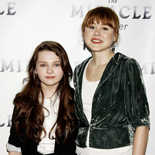 Abigail Breslin, Alison Pill in Photocall for the upcoming Broadway revival of 'The Miracle Worker'