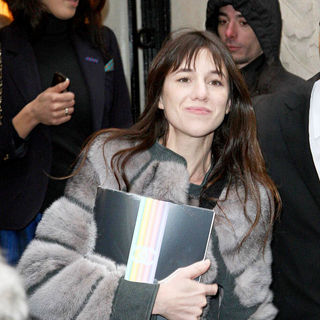 Charlotte Gainsbourg in Paris Fashion Week Haute Couture Spring/Summer 2010 - Chanel - Arrivals - wenn5420723