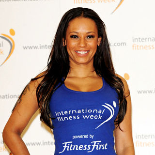 Melanie Brown in Melanie Brown launches International Fitness Week