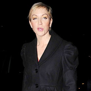 Heather Mills in Heather Mills outside the RTE studios for the 'Late, Late Show'
