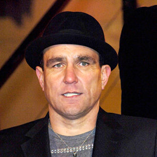 Vinnie Jones in Vinnie Jones leaving the Celebrity Big Brother house on the final eviction night