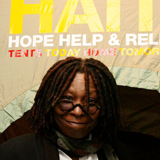 Whoopi Goldberg in Hope Help & Relief Haiti 'A Night Of Humanity'