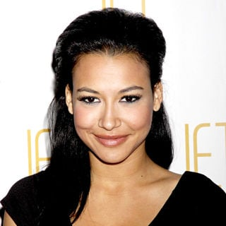 Naya Rivera celebrates her birthday with fellow 'Glee' cast members