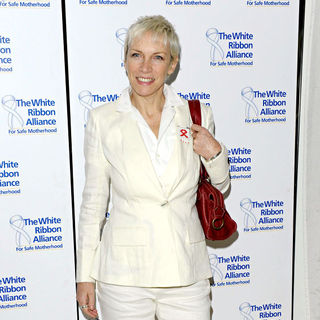Annie Lennox in White Ribbon Global Alliance Party Campaign - Arrivals