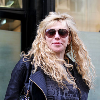 Courtney Love in Courtney Love seen out shopping in Manhattan