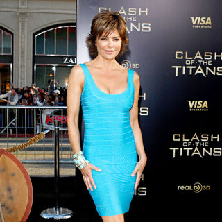 Lisa Rinna in The Los Angeles Premiere of 'Clash of the Titans' - Arrivals