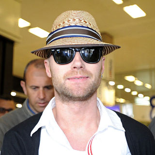 Ronan Keating, Boyzone in Ronan Keating arriving at the Malta International Airport ahead of his concert tonight