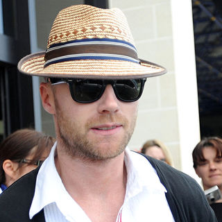 Ronan Keating, Boyzone in Ronan Keating Arriving at The Malta International Airport