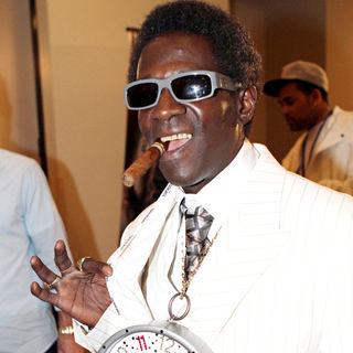 "Flavor Flav in The Bernard 'The Executioner"" Hopkins and Roy Jones Jr. Boxing Match"