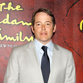 Matthew Broderick in The Opening Night of The Broadway Musical 'The Addams Family'