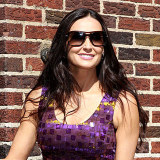 Demi Moore in Demi Moore Outside The Ed Sullivan Theater for The 'Late Show With David Letterman'