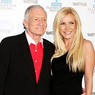 Hugh Hefner, Crystal Harris in TCM Classic Film Festival Opening Night - 'A Star Is Born' Premiere - Arrivals