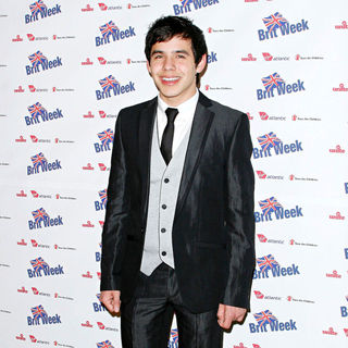 David Archuleta in BritWeek 2010 Charity Event