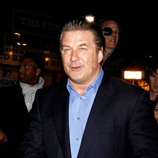 Alec Baldwin in The Opening Night of The Broadway Production of 'Enron' - Arrivals