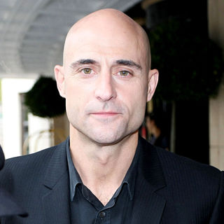 Mark Strong in Mark Strong outside The Dorchester Hotel