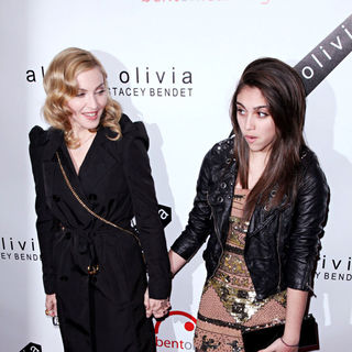Madonna, Lourdes Leon in 2nd Annual Bent on Learning Benefit