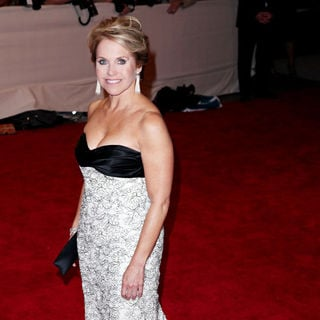 Katie Couric in The Costume Institute Gala Benefit