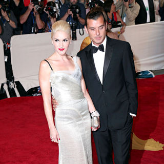 Gwen Stefani, Gavin Rossdale in The Costume Institute Gala Benefit